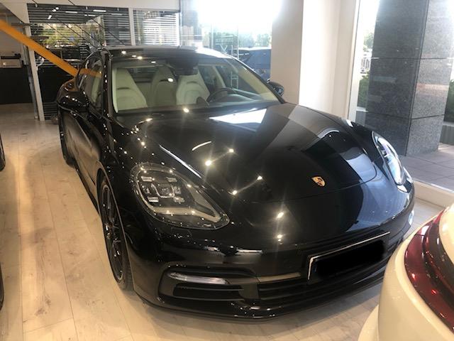 פורשה פאנמרה | Porsche panamera 4E Hybrid Black