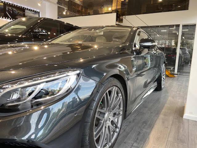 מרצדס S560 COUPE V8 AMG 2018